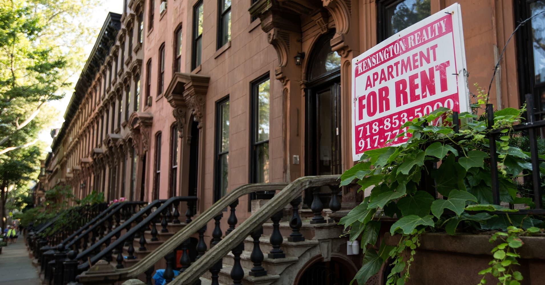The Fort Greene neighborhood of Brooklyn, New York.