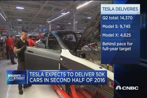 Tesla misses delivery target