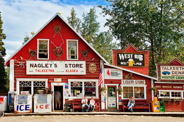 Nagleys Store in Talkeetna.