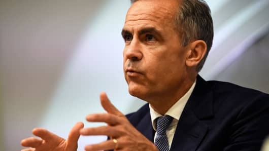 Mark Carney in London, Britain July 5, 2016.
