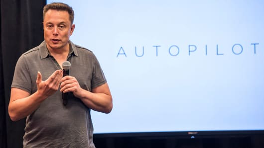 Elon Musk, chairman and CEO of Tesla Motors.