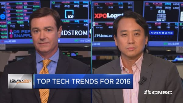 Top tech trends for 2016