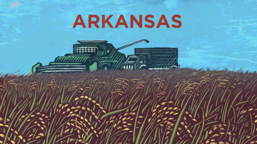 Top States Arkansas