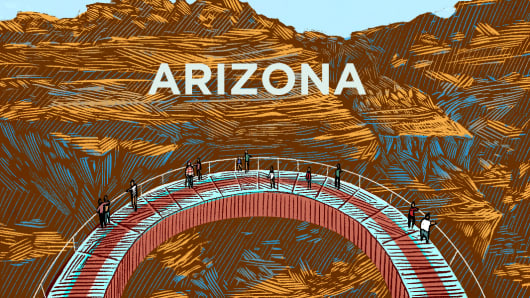 Top States Arizona