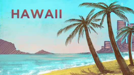 Top States Hawaii