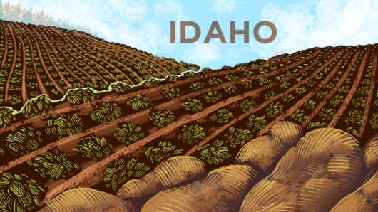 Top States Idaho