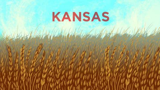 Top States Kansas