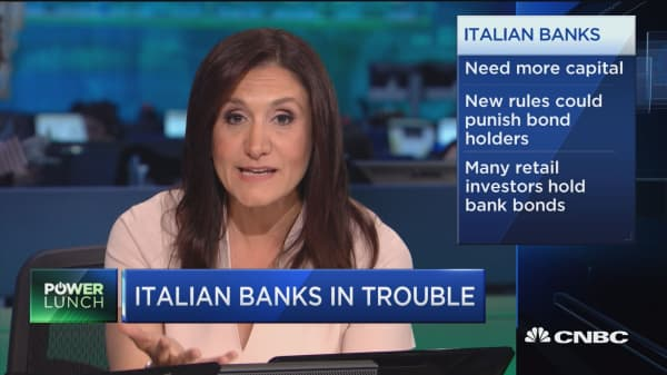 Italian banks in big trouble