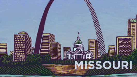 Top States Missouri
