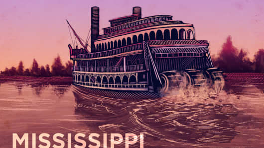 Top States Mississippi