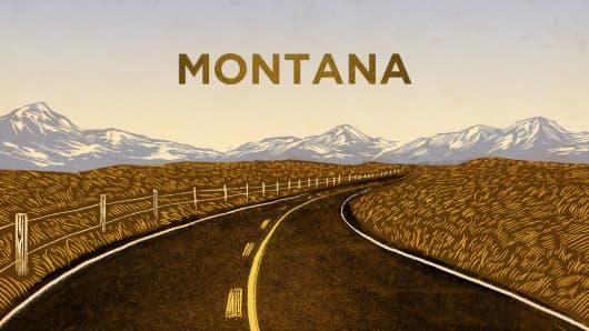 Top States Montana