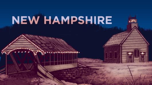 Top States New Hampshire