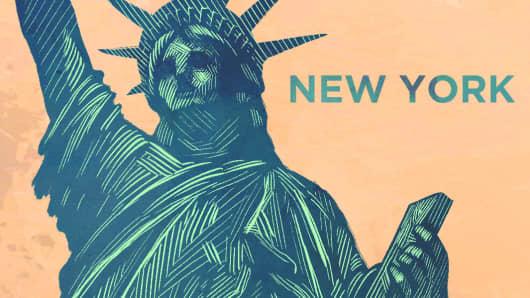 Top States New York
