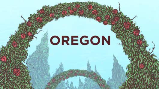 Top States Oregon