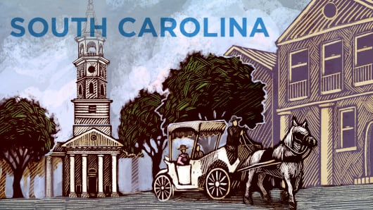 Top States South Carolina