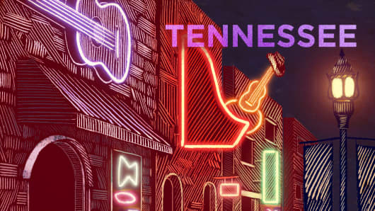 Top States Tennessee
