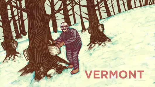 Top States Vermont