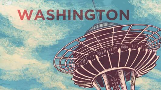 Top States Washington