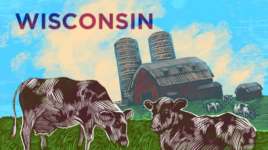 Top States Wisconsin