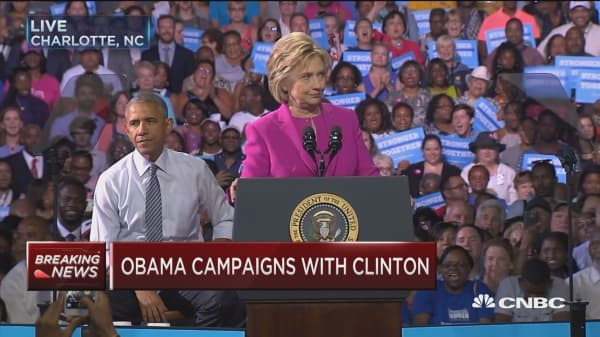 Clinton: Obama saved us from a second Great Depression