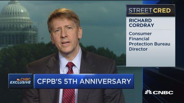 CFPB Director on regulation