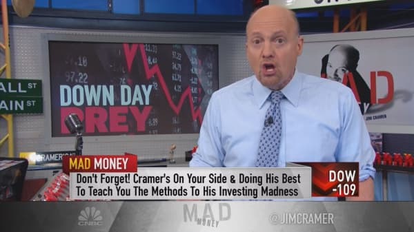 Cramer: Stocks that become a 'money magnet' in a sell-off