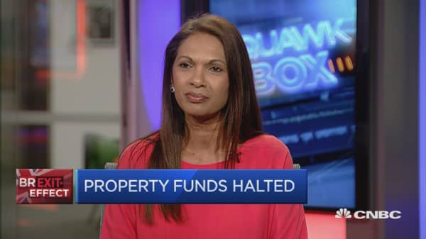 How should property funds have handled Brexit?