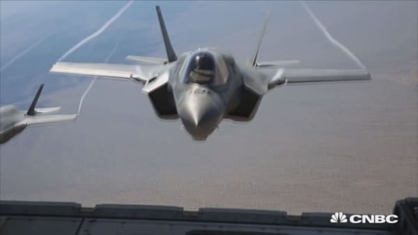 F-35 makes first overseas trip