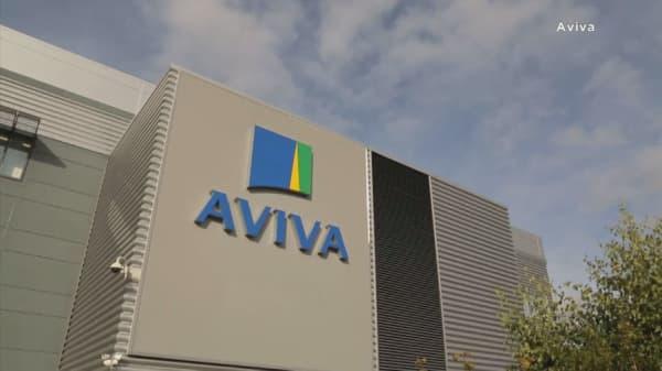 Aviva tells investors to stop worrying