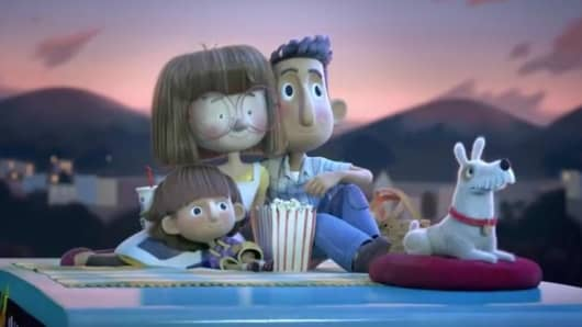 "Chipotle Mexican Grill (NYSE: CMG) today released ""A Love Story,"" an original, animated short film that follows the story of two young entrepreneurs, Ivan and Evie, and the escalating rivalry that leads them to build competing fast food empires."