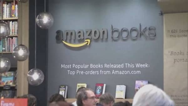 Amazon bookstore may open in New York City