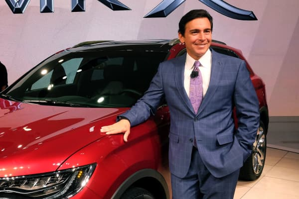 Mark Fields, CEO, Ford Motor Company