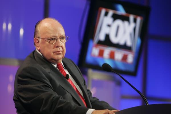 Roger Ailes, then-chairman and CEO of Fox News and Fox Television Stations.