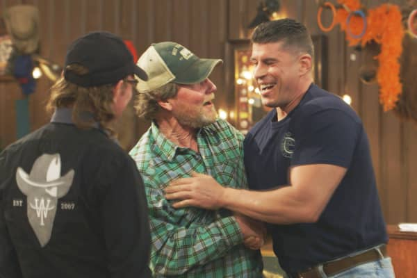 Firefighter and entrepreneur Rob Duffy accepts an investment offer of $50,000 for 15% of his company Quick Step Anchor from West Texas Investors Club hosts Rooster McConaughey and Butch Gilliam.