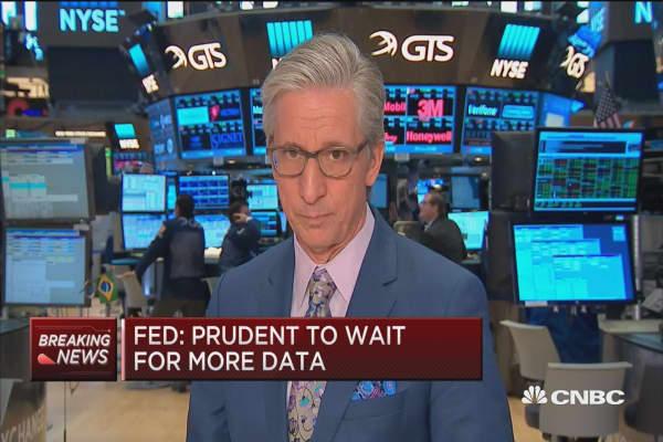 Virtually no volatility in markets