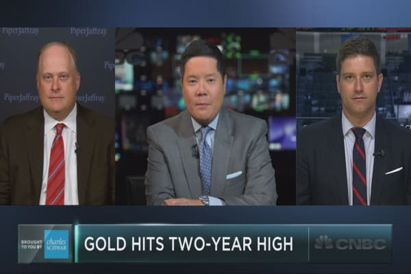 Can gold surge back to $1,900?