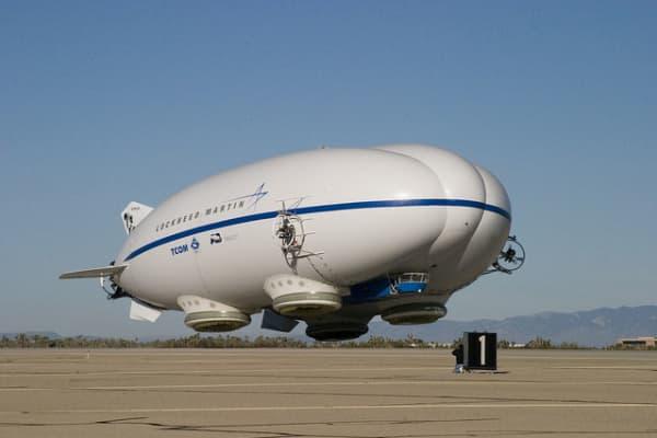 The Lockheed Martin Hybrid Airship.