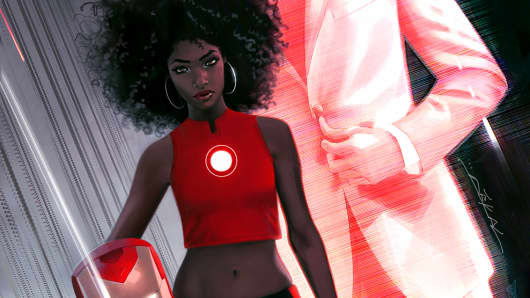New Character Riri Williams Dons Iron Man Armor For Marvel