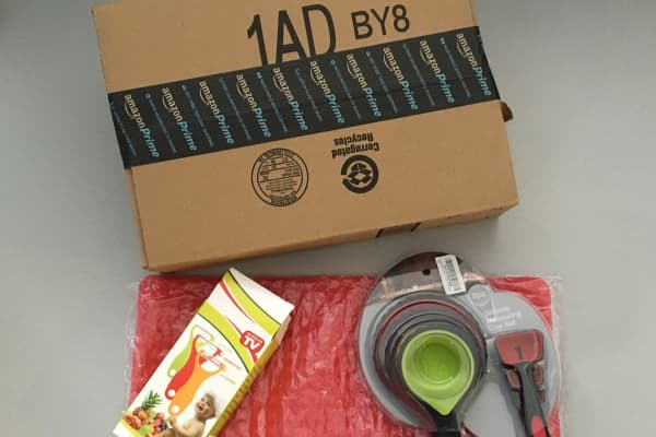 Chinese kitchen products delivered from Amazon facility in Kentucky