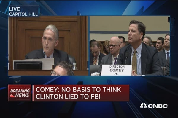 Comey: There was classified material emailed