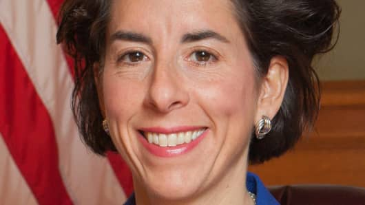 Rhode Island Gov. Gina Raimondo