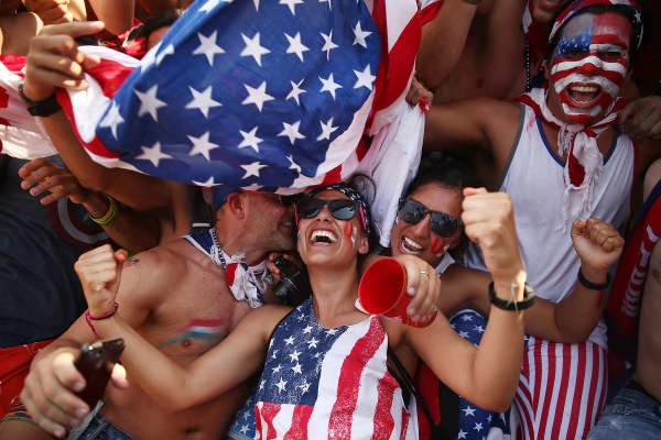 Image result for American optimism about the economy hits an all-time high in new CNBC survey