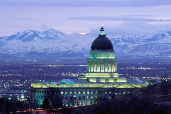 Utah's state capitol building, Salt Lake City