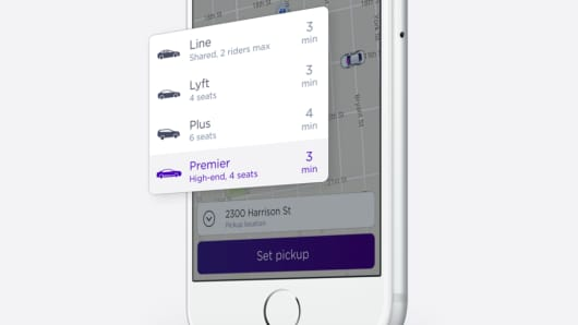 Lyft application