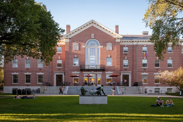 Faunce House at Brown University, Providence, Rhode Island