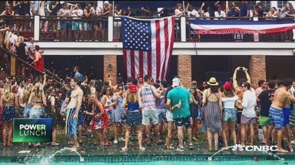 Hamptons party destroys mansion