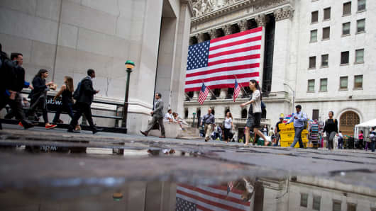 NYSE New York Stock Exchange traders markets
