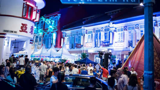 The 2016 Keong Saik Carnival
