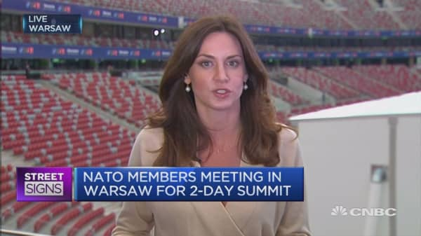 World a more dangerous place: NATO Sec-Gen