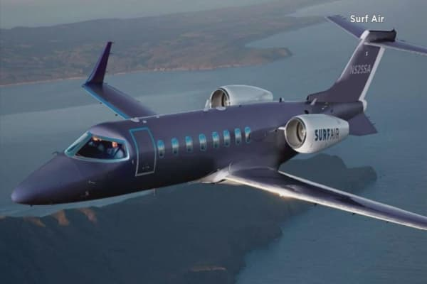 Surf Air to offer unlimited flights to Europe for $3,200 a month